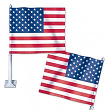 United States of America Car Flag 11.75'' x 14''