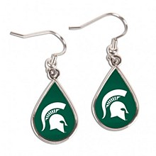 Michigan State University Tear Drop earrings