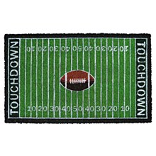 Touch Down Green 18 in. x 30 in. Coir Door Mat by TrafficMaster