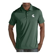 Michigan State University Quest Polo Dark Pine SM