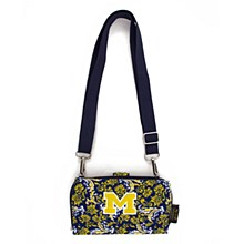 University of Michigan Wallet Cross Body Bloom, Quilted Bag