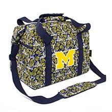 University of Michigan Mini Duffel Bloom, Quilted Bag