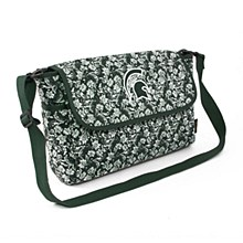 Michigan State University Bag - Quilted Cotton Messenger Bag