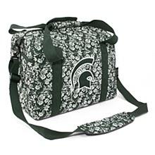 Michigan State University Bag -Quilted Cotton Mini Duffel Bag