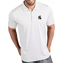 Michigan State Spartans Men's Tribute Performance Polo White Small