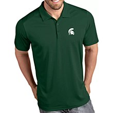 Michigan State Spartans Men's Tribute Performance Polo Green Small