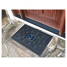 University of Michigan Mat - Vinyl Door Mat 19.5'' x 31.25''