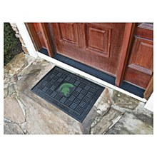 Michigan State University Mat - Vinyl Door Mat 19.5'' x 31.25''