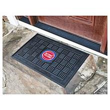 Detroit Pistons Mat - Vinyl Door Mat 19.5'' x 31.25''