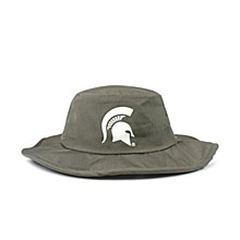 Michigan State University Hat - Spartans Gray All-Weather Boonie Hat
