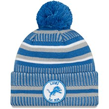 Detroit Lions Men's Sideline Home Sport Pom Knit