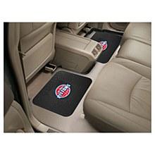Detroit Pistons Car Mat - Vinyl Car Mat 2 pack 14'' x 17''