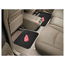 Detroit Red Wings Car Mat Vinyl 2pk 14'' x 17''