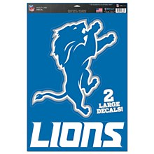 "Detroit Lions Multi-Use Decal 11"" x 17"""