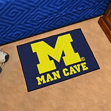 University of Michigan Rug - Man Cave Mat 19'' x 30''