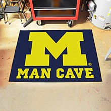 University of Michigan Rug - Man Cave Rug 33.75'' x 42.5''