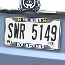 University of Michigan License Plate Frame 6'' x 12''
