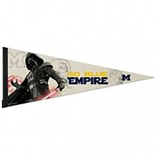 University of Michigan Pennant Vader 12'' x 30''