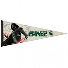 Michigan State University Pennant Darth Vader Premium 12'' x 30''