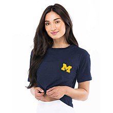 University of Michigan Women's Game Day Jersey Top