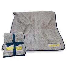 University of Michigan Blanket - Frosty Fleece Throw