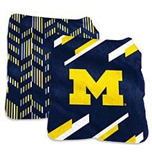 University of Michigan Super Plush Blanket