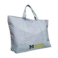 University of Michigan Dot Tote