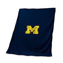 University of Michigan Blanket - Stadium Throw 60'' x 50''