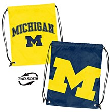 University of Michigan Backpack - Double Header String Pack