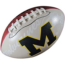 University of Michigan Football Official Size Autograp