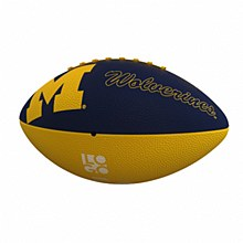 University of Michigan Combo Rubber Football