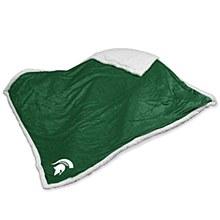 Michigan State Sherpa Throw