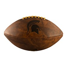 Michigan State University Football Full Size Vintage