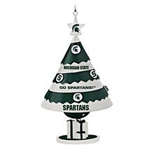 Michigan State University Ornament Tree Bell