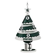 Michigan State University Ornament Tree Bell