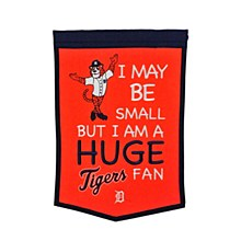 Detroit Tigers Banner - Lil Fan Traditions 18'' x 12''