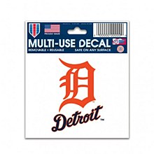 Detroit Tigers Decal Multi-Use 3'' x 4''