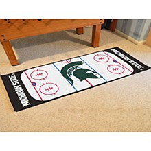 Michigan State University Rug - Spartan Hockey Runner Rug 29.5'' x 72''