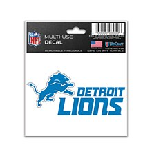 Detroit Lions Multi-Use Decal