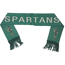 Michigan State University Scarf - Sparty Knit Scarf