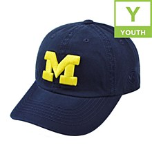 University Of Michigan Youth Crew Hat Navy