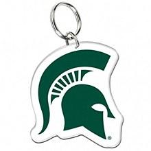 Michigan State University Key Ring - Acrylic