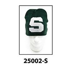 Michigan State University Hat - Jacquaed Knit Beanie
