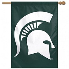 Michigan State University Banner Flag Spartan Vertical 28'' x 40''