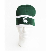 Michigan State University Hat - Men's Two-Sided Knit Beanie