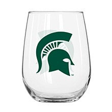 Michigan State University Glass - 16oz Curved Beverage Glass