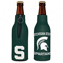 Michigan State University Coozie Bottle Cooler