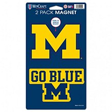 "University of Michihan Magnet 2 Pack 5"" x 9"""