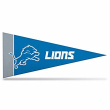Detroit Lions Mini Pennant 2pk