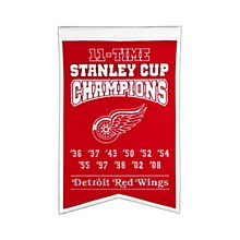 Detroit Red Wings Banner - 11 Time Champions 22'' x 14''